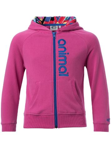 Animal Charmed Zip Hoodie Girls