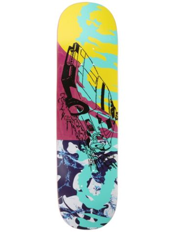 "Quasi Skateboards Fastcar One Pink 8.25"" x 32.125"" Deck"