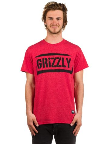 Grizzly Stencil Stamp T-Shirt