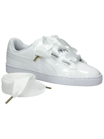 Puma Basket Heart Patent Sneakers Frauen