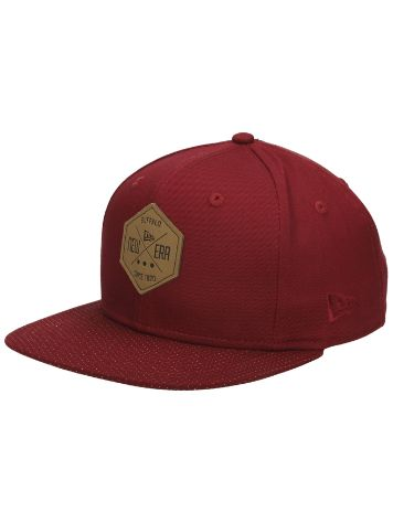 New Era NE Hex Patch Snapback Cap