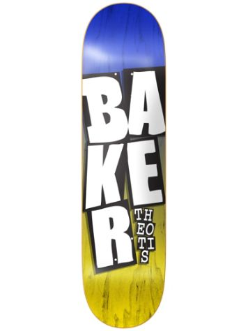 "Baker Beasley Stacked Name 8.3875"" Skateboard"