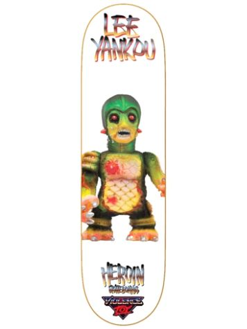 "Heroin Skateboards nce Toy 8.3875"" Skateboard Deck"