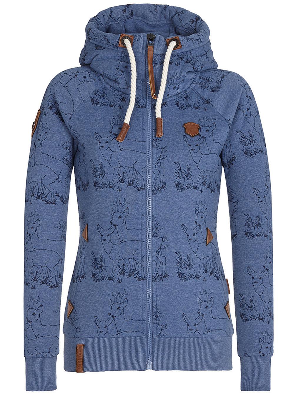 buy naketano zbigniew zip hoodie online at blue. Black Bedroom Furniture Sets. Home Design Ideas