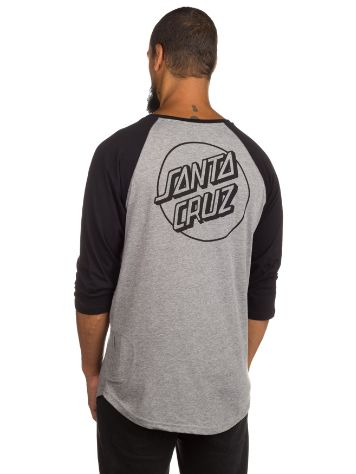Santa Cruz Base 3/4 SL Baseball T-Shirt