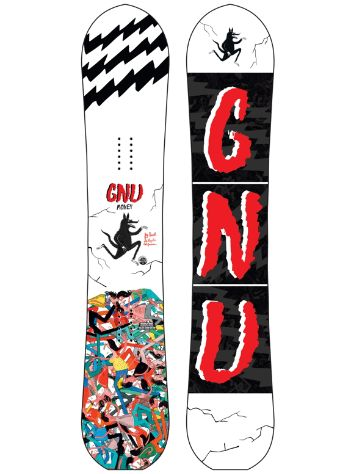Gnu Money 148 C2 LTD 2017 Snowboard