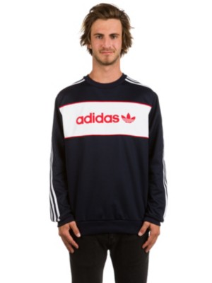 adidas block crew sweat
