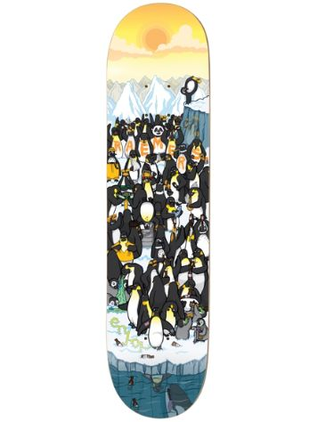 "Enjoi Penguin Party R7 8.0"" Raemers Deck"