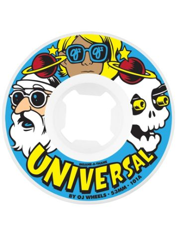 OJ Wheels Universal Insaneathane 101A 53mm Wheels