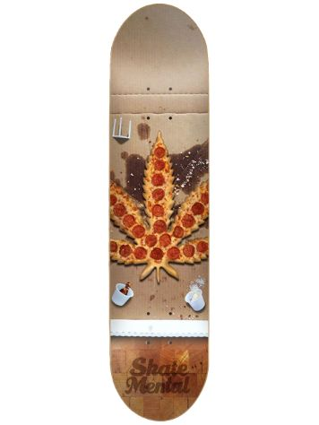 "Skate Mental Pizza Leaf 8.125"" Skateboard Deck"