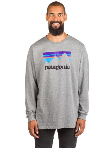 Patagonia Shop Sticker Cotton T-Shirt