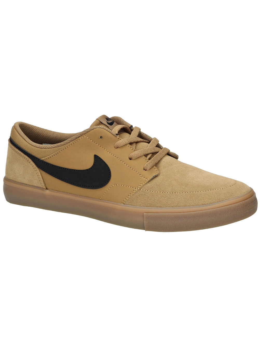 buy nike sb solarsoft portmore ii skate shoes online at blue. Black Bedroom Furniture Sets. Home Design Ideas