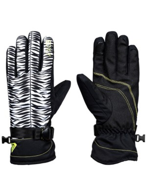 Roxy Jetty Gloves true black_savanna Gr. S