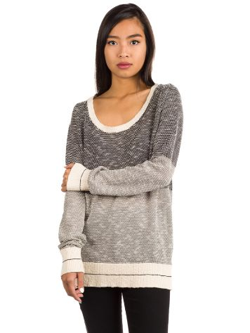 Iriedaily 2 Tone Biquet Knit Sweater