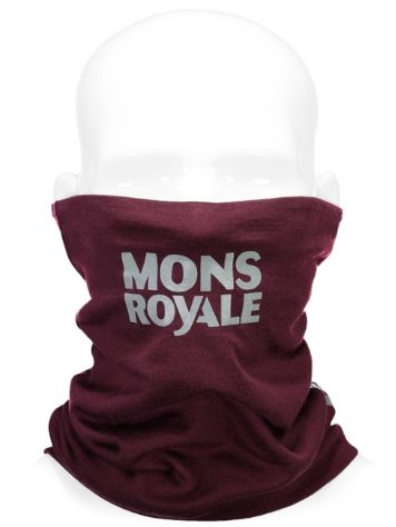 Mons Royale Merino Double Up Vert Neckwarmer