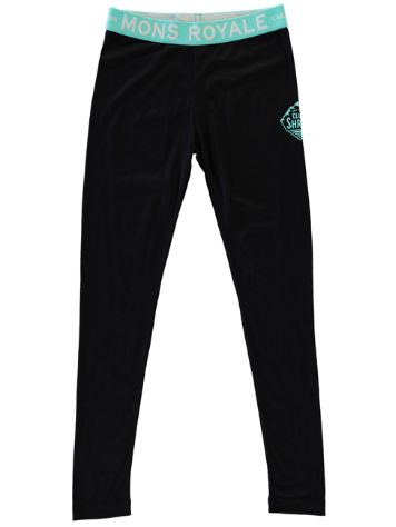 Mons Royale Merino Tech Leggings Girls