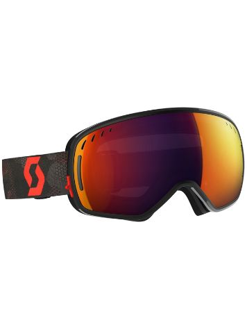Scott LCG Black/Red (+Bonus Lens) Goggle
