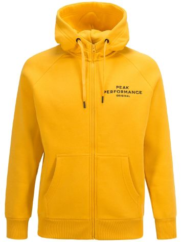 Peak Performance Logo Kapuzenjacke