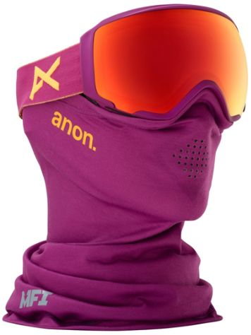 Anon Wm1 MFI Purple (+Facemask) Goggle jongens