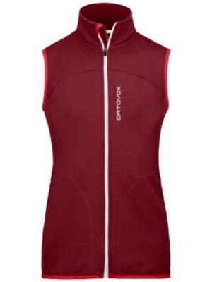 Ortovox Fleece Vest dark blood Gr. L