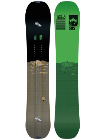 Rome Whiteroom 162 SPLIT 2018 Snowboard Set