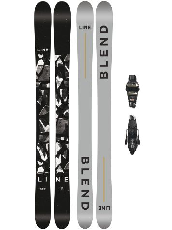 Line Blend 185 + Griffon 13 110mm black 2018 Freeski set