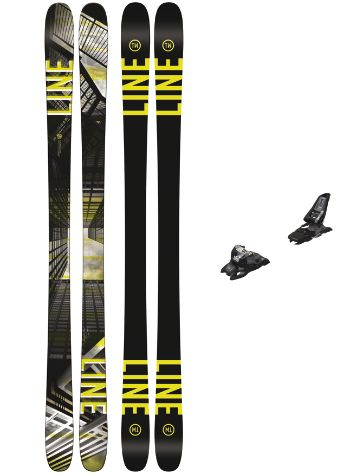 Line Tom Wallisch Pro 178 + Squire 11 90mm black 2018 Freeski set