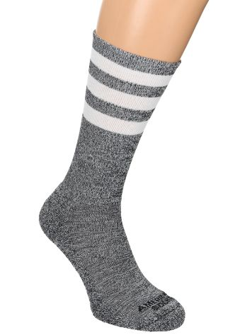 American Socks White Noise Mid High Socks