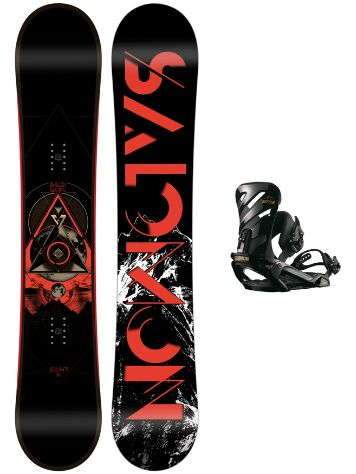 Salomon Sight 162W + Rhythm Black L 2018 Conjunto snowboard