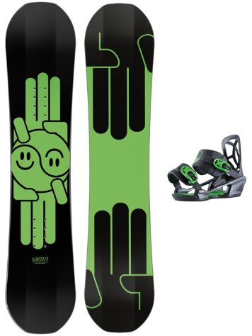 Bataleon Mini Shred 120 + Mini Shred Bdg 2018 Snowboard Set