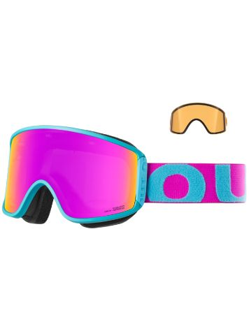Out Of Shift Turquoise Pink (+Bonus Lens) Goggle jongens