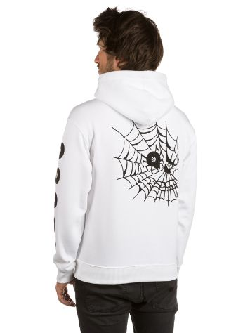 Swallows and Daggers Skull Web Hoodie