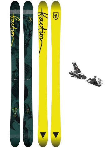 Faction Ambit 164 + SPX 12 Blk/Wht 2018 Freeski-Set