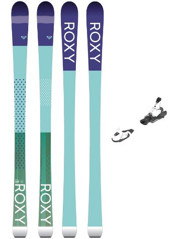 Roxy Kaya 72 160 + L7 Ezytrak 2018 Freeski set