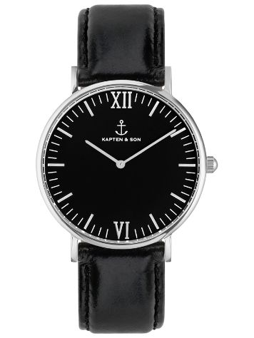 Kapten&Son Campus Black Black 40mm