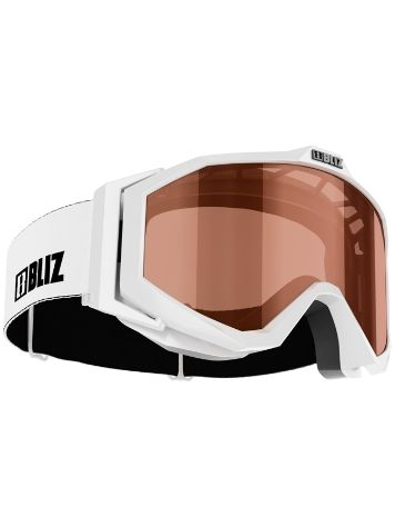 BLIZ PROTECTIVE SPORTS GEAR Edge Jr. White Youth Máscara niños