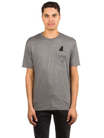 Captain Fin Shark Fin Premium Pocket T-Shirt