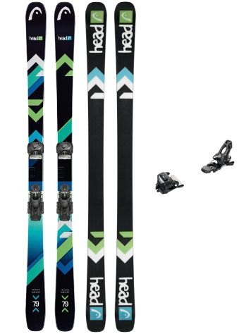 Head The Show 172 + AAAttack 11 90mm 2018 Freeski set
