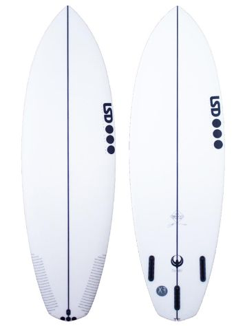 LSD Surfboards Twinny 5.8 Xf Futures Surfboard