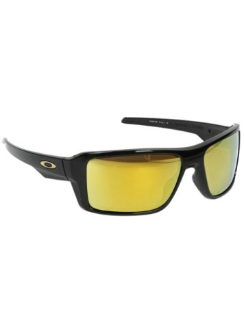 Oakley Double Edge Polished Black Sonnenbrille