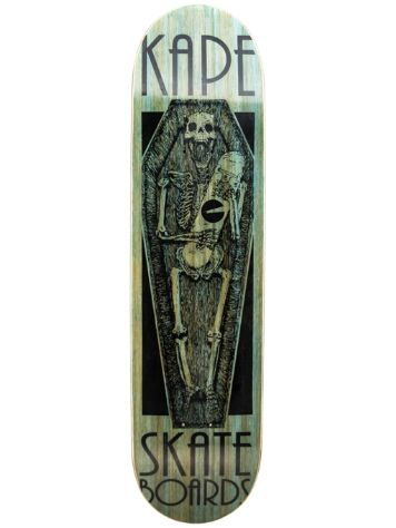 "Kape Skateboards Coffin 8.0"" Deck"
