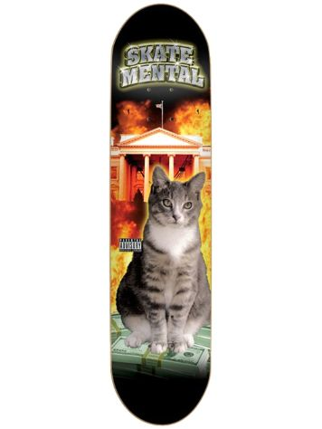 "Skate Mental No Limit 8.0"" Skateboard Deck"