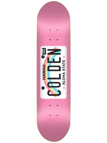 "Skate Mental Colden License Plate 8.0"" Skateboard Dec"