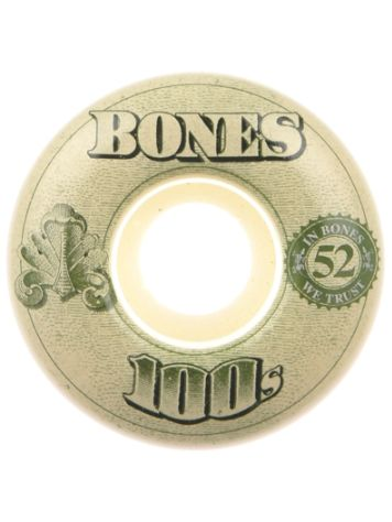 Bones Wheels 100'S Og #16 100A White 54mm Wielen