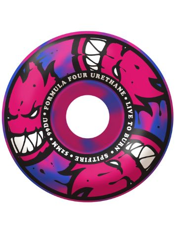 Spitfire Formula Four 99D 52mm Afterburners Blue/Pink
