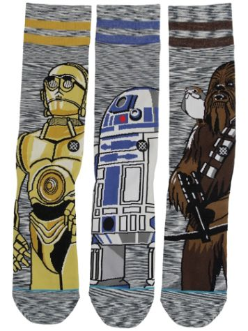 Stance Sw Sidekick 3 Pack Star Wars Socks