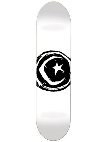 "Foundation Star And Moon White 8.25"" Skateboard Dec"