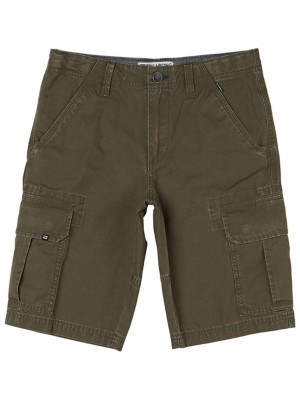 Billabong Scheme Cargo Shorts Boys dark olive Gr. T12