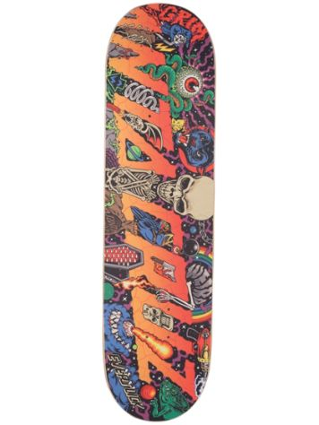 "Santa Cruz Everslick Pitchgrim 8.375"" Skateboard De"
