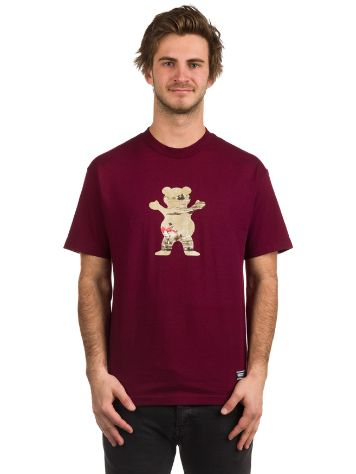 Grizzly Hunting Lodge Og Bear T-Shirt
